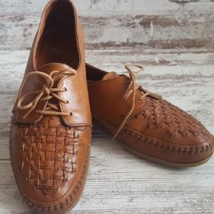 Dexter Woven Loafers Leather Shoes 9